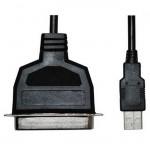LogiLink Adaptador USB a Puerto Paralelo Centronics