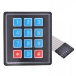 Teclado Matriz 4x4 Botones Compatible con Arduino