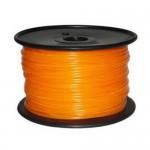 Bobina de filamento ABS 1.75mm Naranja 1Kg