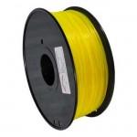 Bobina de filamento ABS 1.75mm Amarillo 1Kg