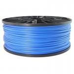 Bobina de filamento ABS 3mm Azul 1KG