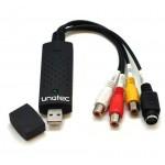 Unotec Converty Capturadora de Vídeo USB