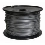 Bobina de filamento ABS 1.75mm Plateado 1Kg