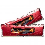 G.Skill Ripjaws 4 DDR4 2400 PC4-19200 16GB 2x8GB CL15 Roja