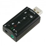 Adaptador USB Audio 7.1 con Volumen