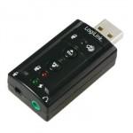 Adaptador USB Audio 7.1 con Volumen
