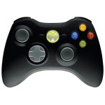 Microsoft Xbox 360 Wireless Controller for Windows Negro