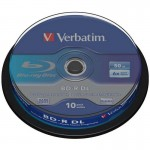 Verbatim Blu-Ray Disc Doble Capa 50GB 6x Bobina 10 unds