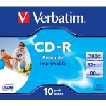 VERB-CD PRINT 700MB 10U