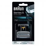 Braun 51S Silver Láminas Recambio + Portacuchillas Series 5