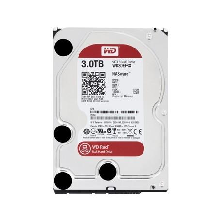 """HD 3.5"""" 3TB S-ATA 3 WD 64MB DESKTOP RED"""