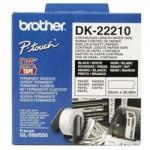 CINTA CONTINUA BROTHER BLANCA DK22210 29MMx30.48