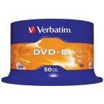 Verbatim DVD-R 16x 4.7 GB Bobina 50 Unds