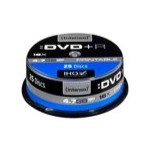 Intenso DVD+R 16X 4.7GB Printable Tarrina 25 Unidades