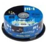 Intenso DVD+R DL 8x 8.5GB Tarrina 25 Unidades