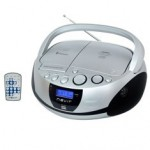 RADIO CD MP3 PORTATIL NEVIR NVR-480UB