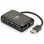LevelOne USB-0502 Adaptador USB Gigabit Ethernet 3 USB