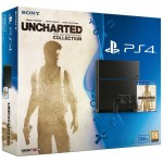 Sony PS4 500GB + Uncharted Collection + PSN Plus 3 Meses