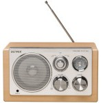 Denver Electronics TR-61 Radio AM/FM/AUX Madera