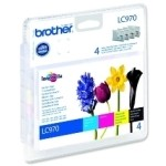MULTIPACK BROTHER LC970VALBP DCP135 150C MFC235C