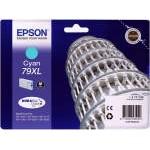Epson 79XL Cian WF-4630DWF/WF-4640DTWF/WF-5110DW