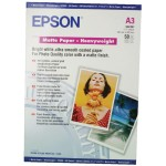 PAPEL EPSON MATE GRUESO A3 50H