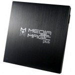 Media Magic Grabadora DVD Externa USB Aluminio Negro