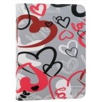 Evitta Crazy Hearts Funda para E-Reader 6""