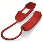 Telefono fijo DA210 rojo