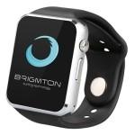 """Brigmton BT4 SmartWatch mSim 1.54"""" Negro"""