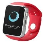 """Brigmton BT4 SmartWatch mSim 1.54"""" Rojo"""