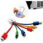 CABLE DATOS 6 EN 1 USB 3.1 TYPO C MICRO USB