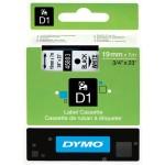DYM-CINTA D1 19X7 NEGRO-BLAN