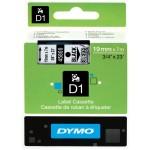DYM-CINTA D1 19X7 NEGRO-TRAN
