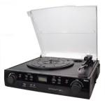 Brigmton Tocadiscos BTC-406REC Cassette + Grabador