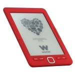 "E-BOOK WOXTER SCRIBA 195 6"" 4GB E-INK ROJO"