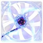 Thermaltake Pure 12 LED DC Fan Azul
