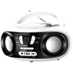 Brigmton W-501 Radio CD/MP3 USB Bluetooth Blanco
