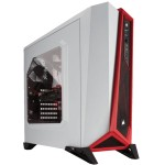Corsair Carbide Series Spec-Alpha Blanca/Roja
