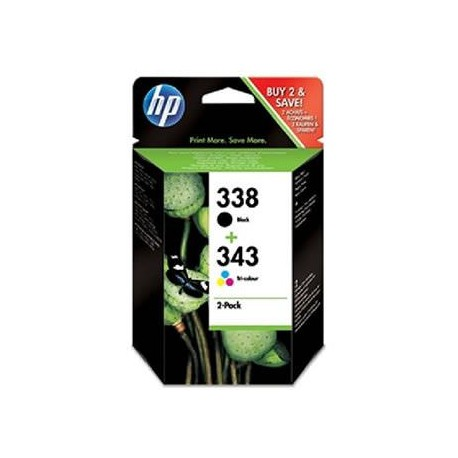 CARTUCHO HP 338-343 SD449EE PACK
