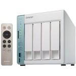 QNAP TS-451A-2G NAS Torre Ethernet Verde, Color blanco servidor de almacenamiento