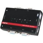 Approx Conmutador KVM USB/VGA Switch 4 Puertos