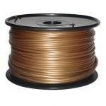 Bobina de Filamento PLA 1.75mm Dorado 1Kg