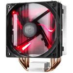 VENTILADOR CPU COOLER MASTER HYPER 212 LED ROJO INTEL/AMD