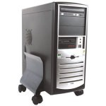 SOPORTE METALICO CPU GRAFITO FELLOWES