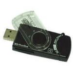 Gembird FD2-ALLIN1-C1 USB 2.0 lector de tarjeta