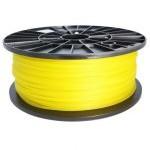 Bobina de filamento PLA 3mm Amarillo 1Kg