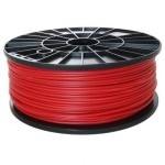 Bobina de filamento PLA 3mm Rojo 1Kg
