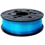XYZPrinting Cartucho de Filamento PLA 1.75mm Azul Transparente 600gr para DaVinci Jr