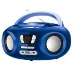 Brigmton W-501 Radio CD/MP3 USB Bluetooth Azul